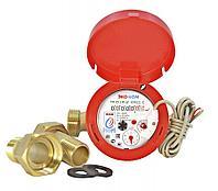 Счетчик воды универсальный ЭКО НОМ-20-130 ДГ+КМЧ с обратным клапаном, класс «С»