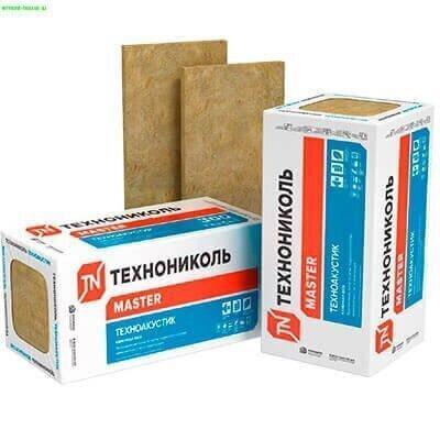 Техноакустик 1200x600x50 мм 12 шт плита минераловатная