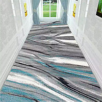 Скандинавский абстрактный геометрический входной коврик, ширина 90 см