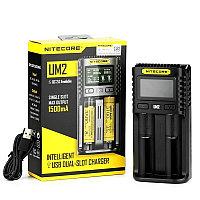 Nitecore UM2 - быстрая универсальная 2х-канальная USB-зарядка.