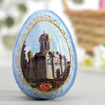 Яйцо шоколадное «Святая обитель», 30 г