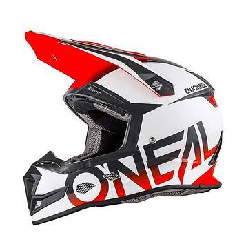 Шлем кроссовый 5Series BLOCKER бело-чёрно-оранжевый, XL