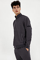 Олимпийка мужская Finn Flare, цвет серый, размер L