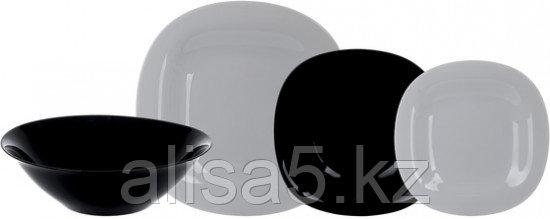 CARINE GRANIT & BLACK столовый сервиз на 6 персон из 19 предметов, шт