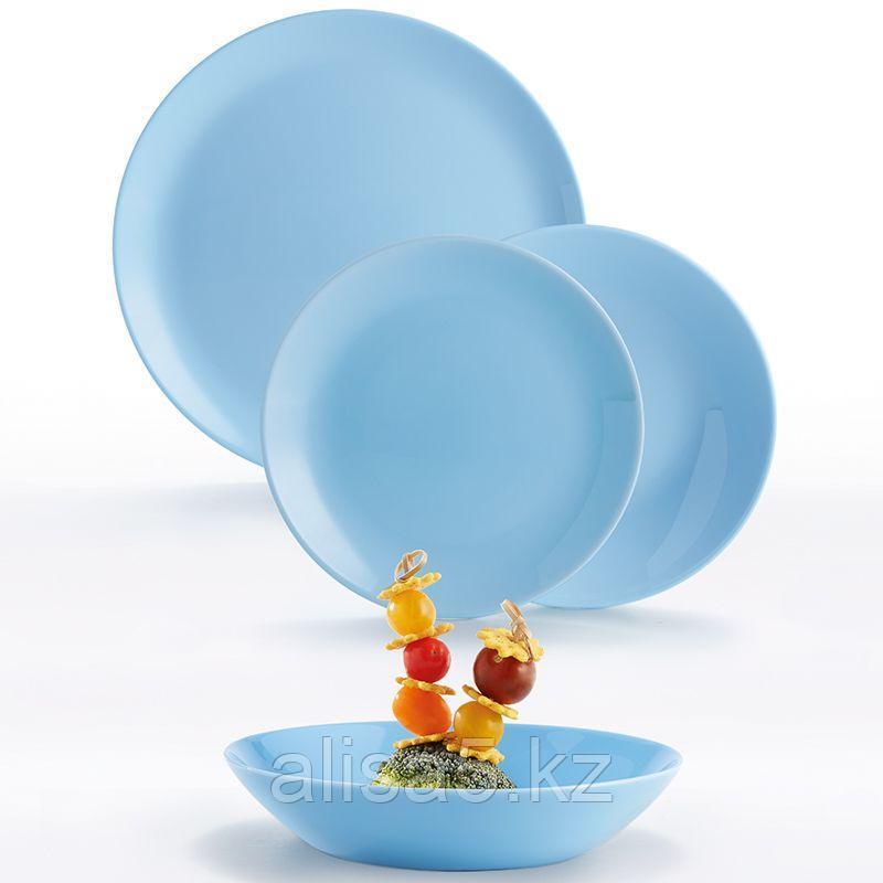 DIWALI LIGHT BLUE столовый сервиз на 6 персон из 18 предметов, шт