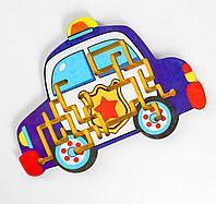 Лабиринт «Полицейская машина»