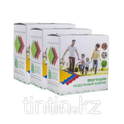 Детский массажный коврик ОРТОДОН, набор MIX 18 (18 пазлов) Ассорти для всей семьи, фото 2