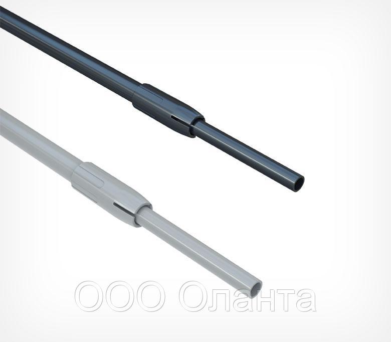 Пластиковая телескопическая трубка 350-550 мм (d=9-12 мм)