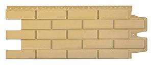 Фасадные панели Песочный 1000x400 мм Клинкерный кирпич,серия Стандарт (моноцвет) Grand Line