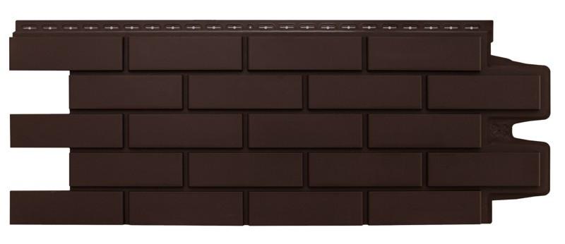 Фасадные панели Коричневый 1000x400 мм Клинкерный кирпич,серия Стандарт (моноцвет) Grand Line