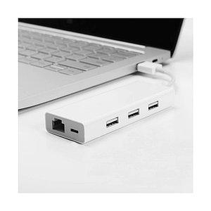 Универсальный расширитель USB Xiaomi 3.0 Hub Gigabit Ethernet Multi Adapter Белый