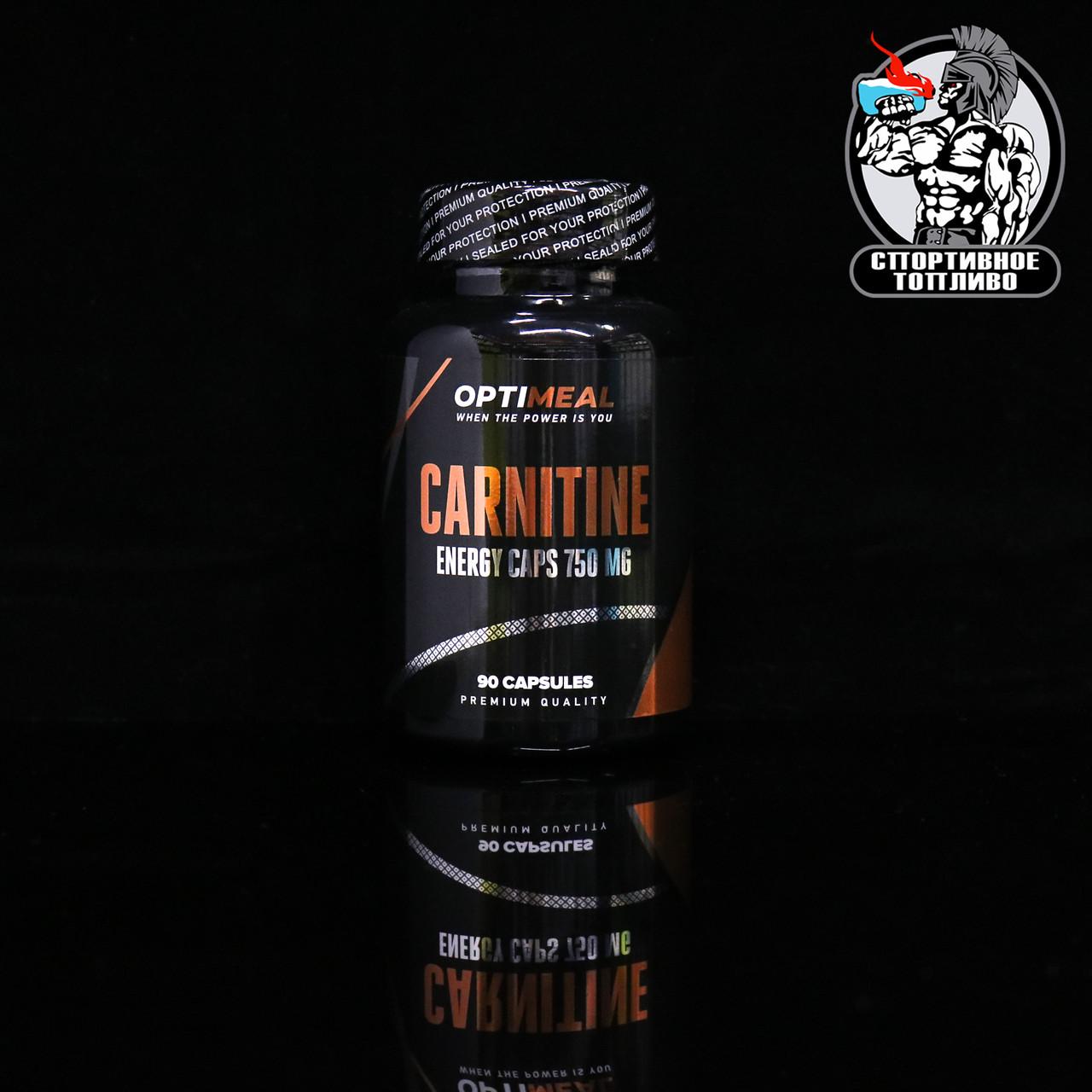 OptiMeal - L-carnitine 90капс/30порций