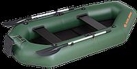 Лодка K250T 2-местная гребная, днищ. ковр. книжка (5-ти слойн.ПВХ 950 гр\м²)