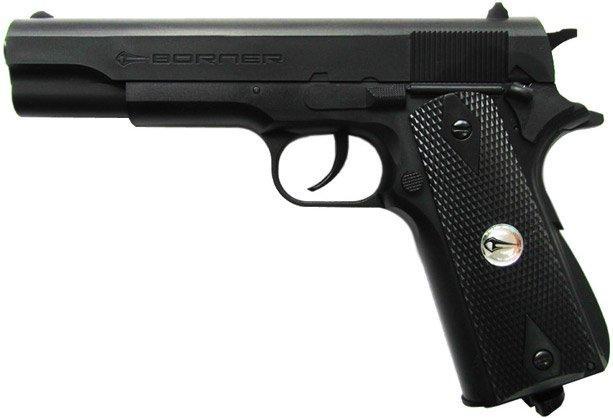 Пистолет пневматический Borner  CLT 125 4.5мм