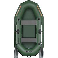 Лодка K240T 2-местная гребная, днищ. ковр.,(5-ти слойн.ПВХ 750 гр\м²)