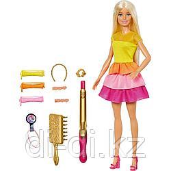 """Mattel Barbie Игровой набор кукла """"Невероятные кудри"""" GBK24"""