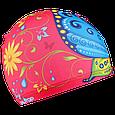 Шапка  для плавания бабочка детская, фото 3