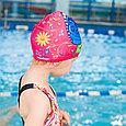 Шапка  для плавания бабочка детская, фото 2