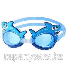 Очки для плавания детские акула