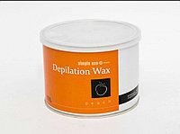 Воск для депиляции SIMPLE USE BEAUTY - PEACH (персиковый), теплый, банка, 400 мл