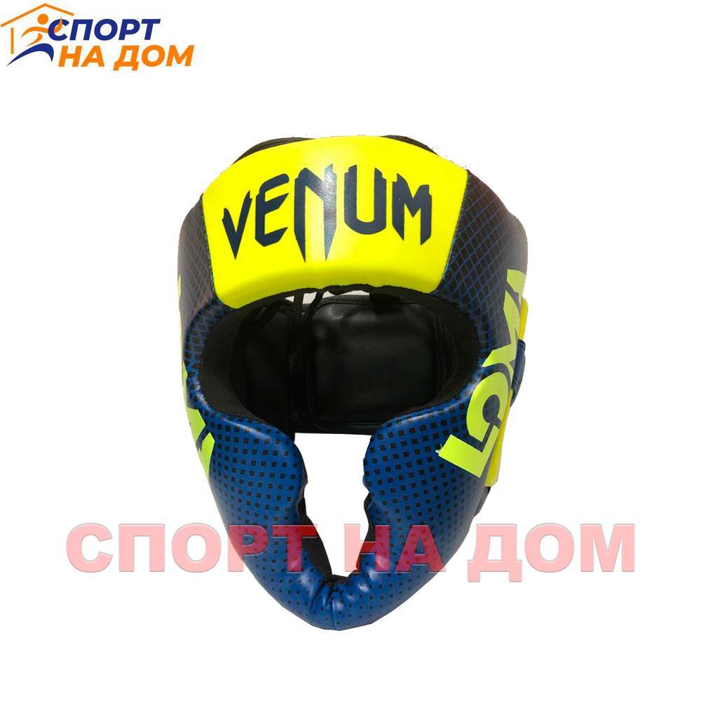 Бокс Шлем Venum LOMA  (кожа PU) размер XXL