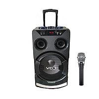 Колонка караоке беспроводная с беспроводным микрофоном Cov-626. В описании есть видео обзор колонки!