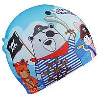 Детская шапка для бассейна пират