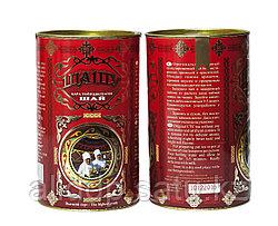 Подарочная банка черного чая на ТОЙБАСТАР, 16 см