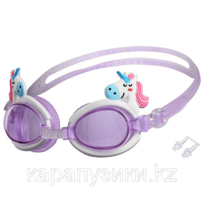 Детские очки для бассейна единорог