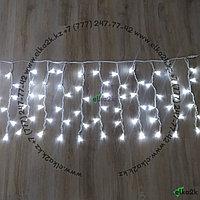 """Уличная световая гирлянда """"Дождь"""" - 3х0,7 метра, 120 лампочек, белый свет"""