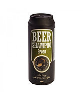 Пивной шампунь с мятой и эвкалиптом The Chemical Barbers Beer Shampoo Green 440 мл
