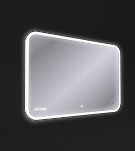 Зеркало LED DESIGN PRO 070 100 bluetooth часы с подсветкой прямоугольное