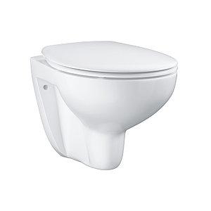 Унитаз подвесной безободковый Grohe bau ceramic в комплекте с сиденьем, микролифт
