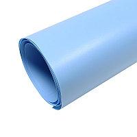 Фон пластиковый для предметной сьемки (голубой 1х2 метра)