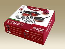 Набор посуды9предметов RUBINO SET 9 PCS.