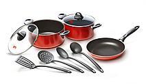 Набор посуды 9 предметов RUBINO SET 9 PCS.