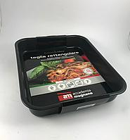 """Противень """"Fuoco&Idee Lasagna Baking Pan"""". Алюминий, антипригарное покрытие. Прямоугольник - 42х33 см, высота"""
