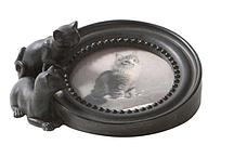 Рамка для фотографии с кошками 18х16,5х7,5 см.