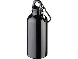 Бутылка Oregon с карабином 400мл, черный