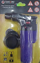 Горелка газовая, паяльник Turbo qiaoling Ql-001, синий