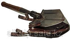 Лопатка складная с кожаным чехлом. Швецария. Выпуск 1957-1960 г.