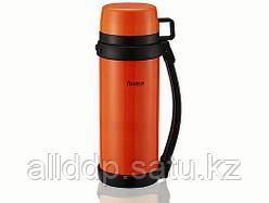 7887 FISSMAN Термос 1200 мл оранжевый (нерж. сталь)
