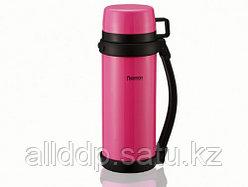 7888 FISSMAN Термос 1200 мл розовый (нерж. сталь)