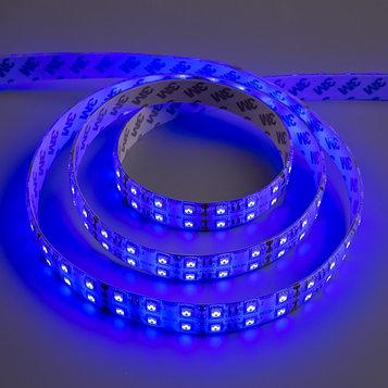Светодиодная лента 12В, SMD5050, 5 м, IP65, 120 LED, 28.8 Вт/м, 10-12 Лм/1 LED, DC, СИНИЙ
