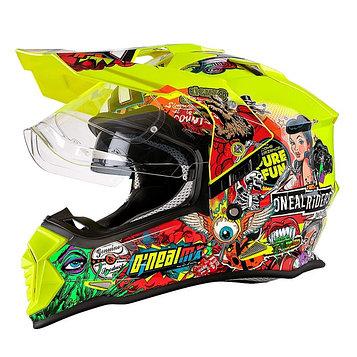 Шлем кроссовый со стеклом Sierra II CRANK, L