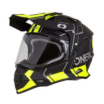 Шлем кроссовый со стеклом Sierra II COMB, S