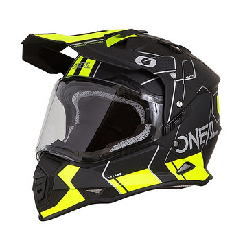 Шлем кроссовый со стеклом Sierra II COMB, L