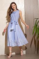 Женское летнее голубое платье Condra 4302 44р.