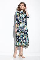 Женское летнее из вискозы платье Gizart 5062-1п 44р.