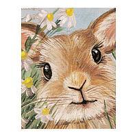 Роспись по холсту «Милый кроль» по номерам с красками по 3 мл+ кисти+инстр+крепеж, 30 × 40 см